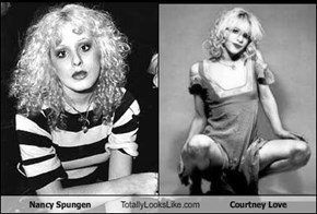 Nancy Spungen Totally Looks Like Courtney Love