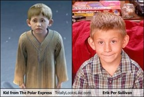 Kid from The Polar Express Totally Looks Like Erik Per Sullivan