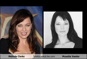 Melinda Clarke Totally Looks Like Musetta Vander