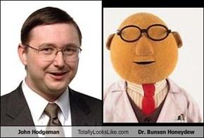 John Hodgeman Totally Looks Like Dr. Bunsen Honeydew