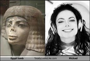 Egypt tomb Totally Looks Like Michael