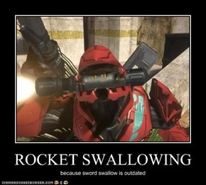 ROCKET SWALLOWING