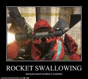 ROCKET SWALLOWING