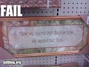 framed fail