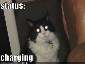 status:  charging