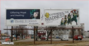 Billboard Placement Fail