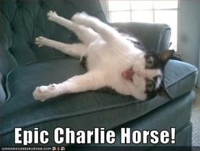 Epic Charlie Horse!