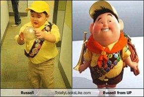 Russell Totally Looks Like Russell from UP