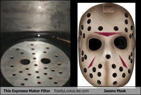 This Expresso Maker Filter Totally Looks Like Jasons Mask