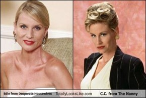 Edie from Desperate Housewives Totally Looks Like C.C. from The Nanny