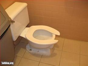 Toilet Seat Fail