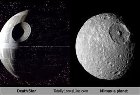 Death Star Totally Looks Like Mimas, a planet