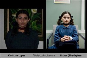 Christian Lopez Totally Looks Like Esther (The Orphan