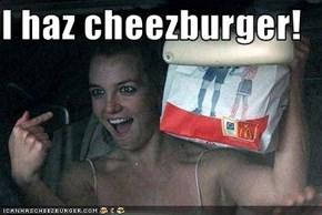 I haz cheezburger!