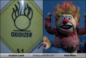 Oxidizer Label Totally Looks Like Heat Miser