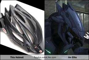 This Helmet Totally Looks Like An Elite