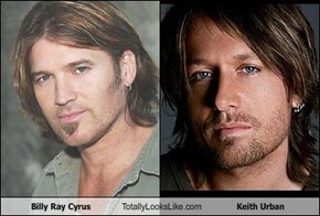 Billy Ray Cyrus Totally Looks Like Keith Urban