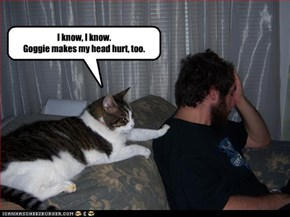 I know, I know. Goggie makes my head hurt, too.