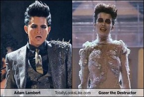 Adam Lambert Totally Looks Like Gozer the Destructor