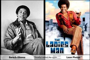 Barack Obama Totally Looks Like Leon Phelps