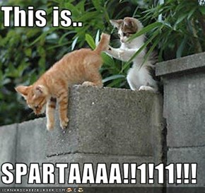 This is..  SPARTAAAA!!1!11!!!
