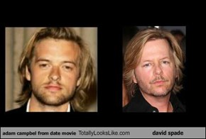 adam campbel from date movie Totally Looks Like david spade