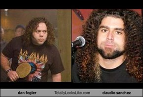 dan fogler Totally Looks Like claudio sanchez