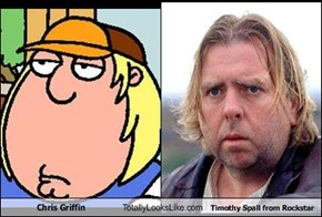 Chris Griffin Totally Looks Like Timothy Spall from Rockstar