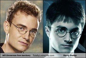 Will Zimmerman from Sanctuary Totally Looks Like Harry Potter