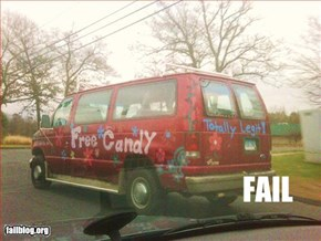 Candy Man Fail