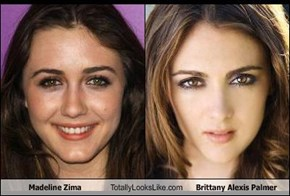 Madeline Zima Totally Looks Like Brittany Alexis Palmer