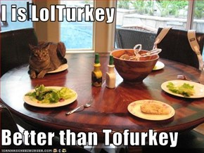 I is LolTurkey  Better than Tofurkey