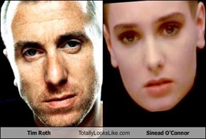 Tim Roth Totally Looks Like Sinead O'Connor