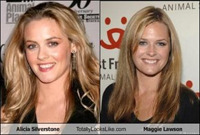 Alicia Silverstone Totally Looks Like Maggie Lawson