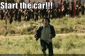 Start the car!!!