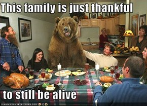 This family is just thankful   to still be alive