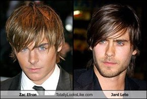 Zac Efron Totally Looks Like Jard Leto