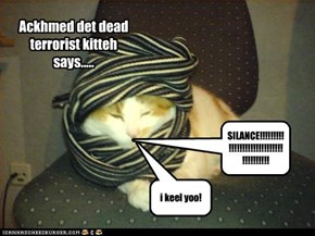 Ackhmed det dead terrorist kitteh says.....