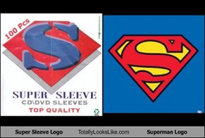 Super Sleeve Logo Totally Looks Like Superman Logo