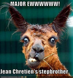 MAJOR EWWWWWW!  Jean Chretien's stepbrother.
