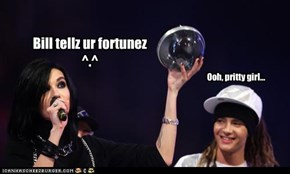 Bill tellz ur fortunez  ^.^