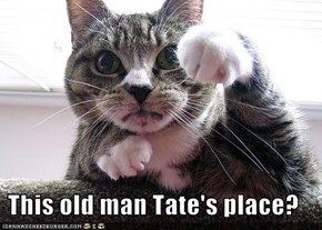 This old man Tate's place?