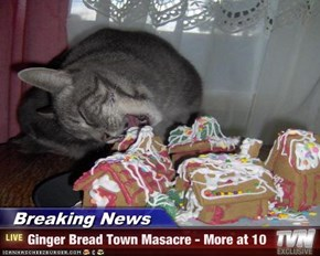 Breaking News - Ginger Bread Town Masacre - More at 10