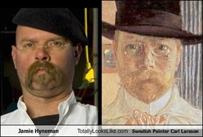 Jamie Hyneman Totally Looks Like Swedish Painter Carl Larsson