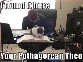 I found it here  Your Pothagorean Theorum