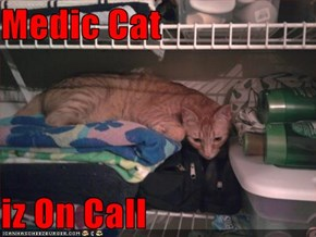 Medic Cat    iz On Call