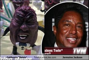 "California ""Raisin"" Totally Looks Like Jermaine Jackson"
