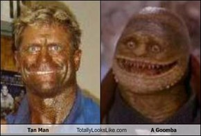 Tan Man Totally Looks Like A Goomba