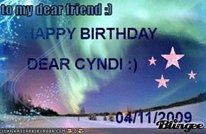 to my dear friend :)