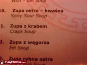 Craps Soup